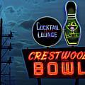 Crestwood Bowl Neon Sign by Robert FERD Frank