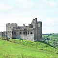 Crighton Castle In Summer by Victor Lord Denovan