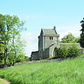 Crighton Church And Track by Victor Lord Denovan