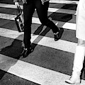 Crossings 1970's Style New York City by John Rizzuto