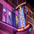 Crossroads On Broadway In Nashville  by John McGraw