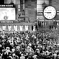 Crowd At Grand Central Station Watch by New York Daily News Archive