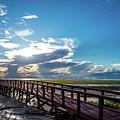 Crystal Beach Pier by Joe Leone