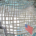 Crystal Court Ceiling In Minneapolis Ids Center by Jim Hughes