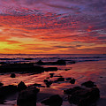 Crystal Cove Newport Beach Sunset by Kyle Hanson