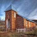 Cuervo New Mexico Ghost Town  by Harriet Feagin