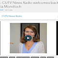 Cutv News Radio Welcomes Back Dr. Victoria Mondloch by Dr Victoria J Mondloch