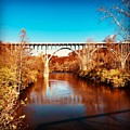 Cuyahoga River At Autumn by The Art of Alice Terrill