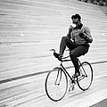 Cycling Marathon by Derek Berwin