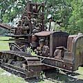 D6 Caterpillar Tractor Crane by D Hackett