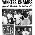 Daily News Back Page Dated Oct. 6, 1953 by New York Daily News Archive