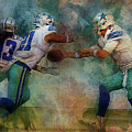 Dallas Cowboys. by Nadezhda Zhuravleva