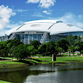 Dallas Cowboys Att Stadium Arlington Texas by Robert Bellomy