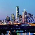 Dallas Skyline V2 071719 by Rospotte Photography