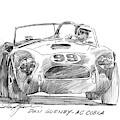Dan Gurney Ac Cobra No. 99 by David Lloyd Glover
