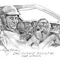 Dan Gurney Ford G.t. 40 by David Lloyd Glover