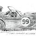 Dan Gurney Racing Ac Cobra 289 by David Lloyd Glover