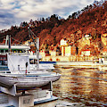 Danube River In Passau, Germany by Tatiana Travelway