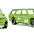 Datsun 510 Comic Strip by Jorgo Photography - Wall Art Gallery