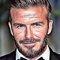 David Beckham by Russ Carts