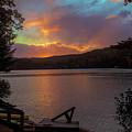 Dawn On Golden Pond by Jeff Folger
