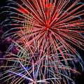 Dazzling Bright Fireworks by Garry Gay
