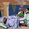 Death Of Cleopatra, Queen Of Egypt, 30 by Science Source