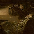 Death Of The Old Man by Ladislav Mednyanszky
