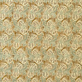 Decorated Endpaper With Lion Rampant Motif by German School