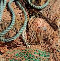 Deep Sea Fishing Nets And Buoys by Victor Lord Denovan