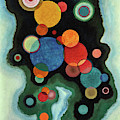 Deepened Impulse - Vertiefte Regung by Wassily Kandinsky