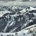 Deer Valley Bald Mountain Snowy Views by Adam Jewell