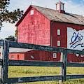 Delaware County Bicentennial Barn - Ohio  by Gregory Ballos