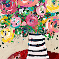 Delightful Bouquet 5- Art By Linda Woods by Linda Woods