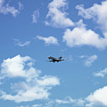 Delta Jet Heading To Charleston International Airport by Dale Powell