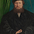 Derick Berck Of Cologne, 1536 by Hans Holbein the Younger