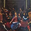 Descente Du Saint Esprit 1635 by Georges Lallemand