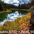 Deschutes River, Bend, Oregon by G Matthew Laughton