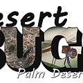 Desert Bugs Big Letter by Colleen Cornelius