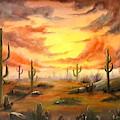 Desert by Manar Hawsawi