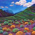 Desert Valley by Johnathan Harris