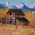 Deserted Barn by Jill DeFinis