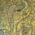 Detail Of The Gold Mosaic Frieze by Walter Crane