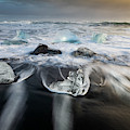 Diamond Beach Iceland by Joan Carroll