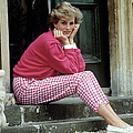 Diana At Highgrove by Tim Graham