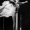 Diana Ross Seems Ready To Take Off At by New York Daily News Archive