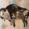 Digital Bison 6d by Kae Cheatham