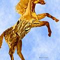 Digital Horse 2 by Kae Cheatham