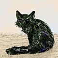 Digital Red Fox #1 by Kae Cheatham