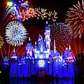 Disneyland 60th Anniversary Fireworks by Mark Andrew Thomas